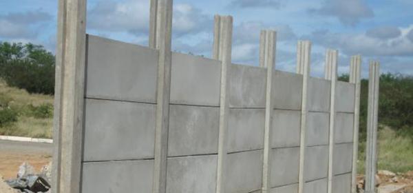 placa cimento para muro